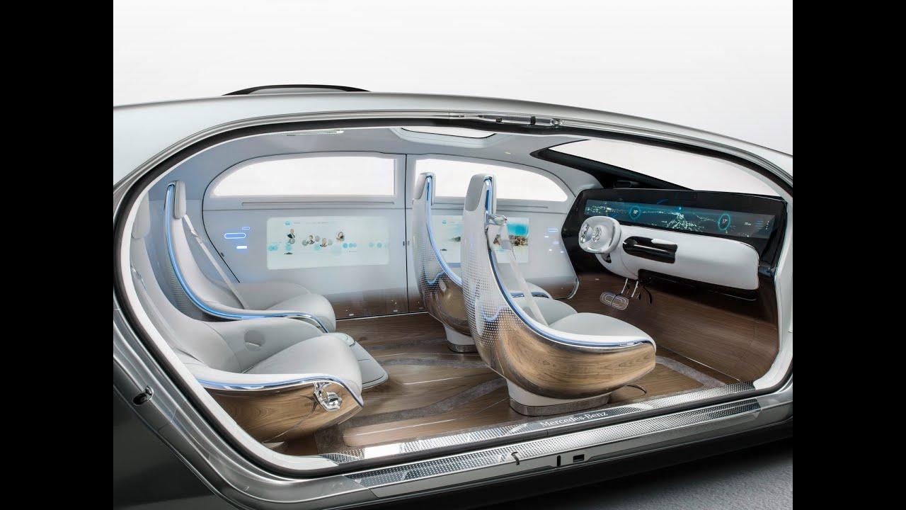 2015 mercedes f015 luxury motion interior exterior concept