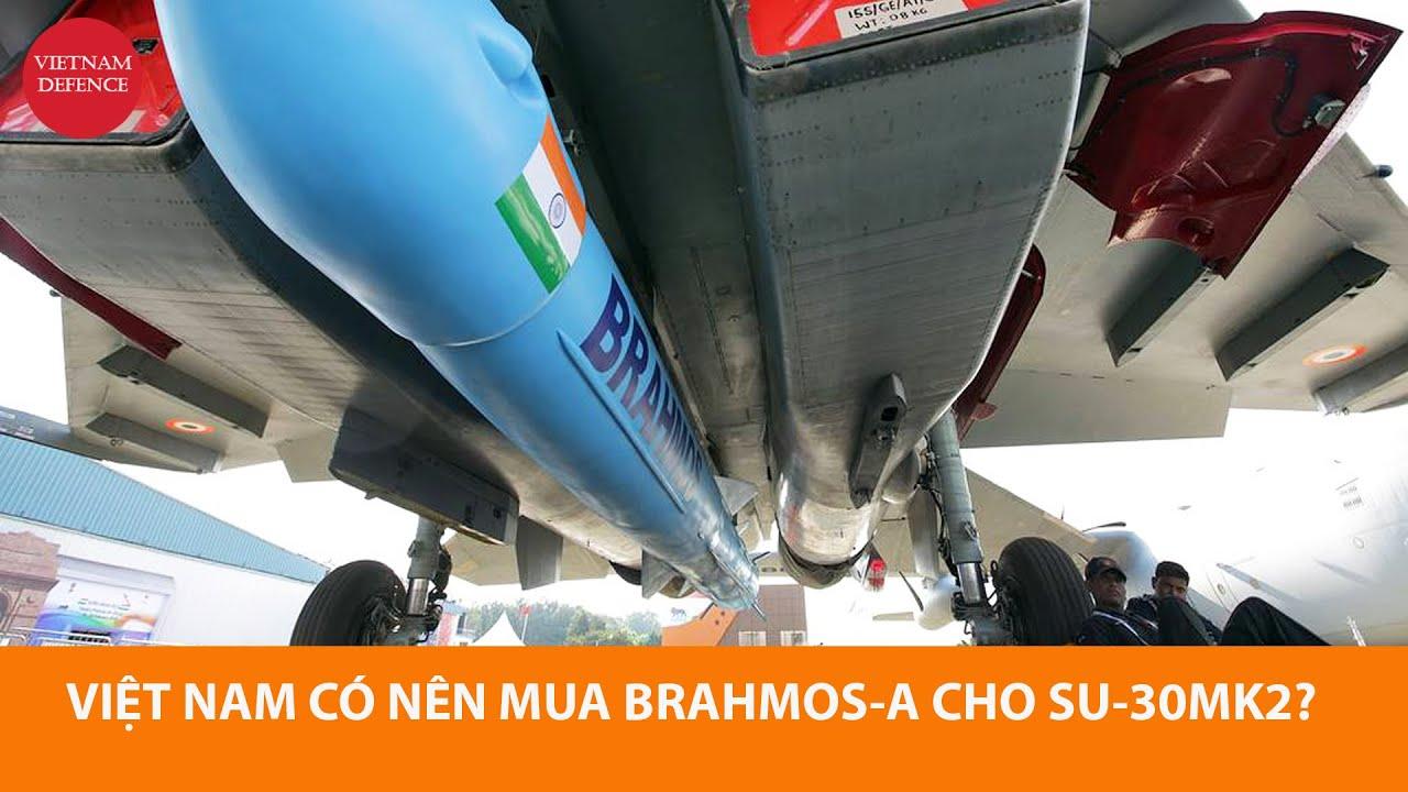 Nga coi Việt Nam là khách tiềm năng mua tên lửa BrahMos-A cho Su-30 - 290km, không tệ đâu
