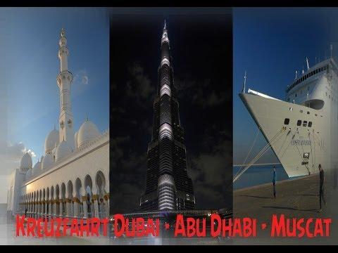 Costa NeoRiviera Cruise - Dubai - Abu Dhabi - Mascat