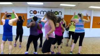 Latin Dance Fitness Choreography - Vivir mi Vida Marc Anthony