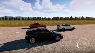 Forza Horizon 2 | 500HP Turbo B16A CRX SiR vs The WORLD (Duracell Car Pack)