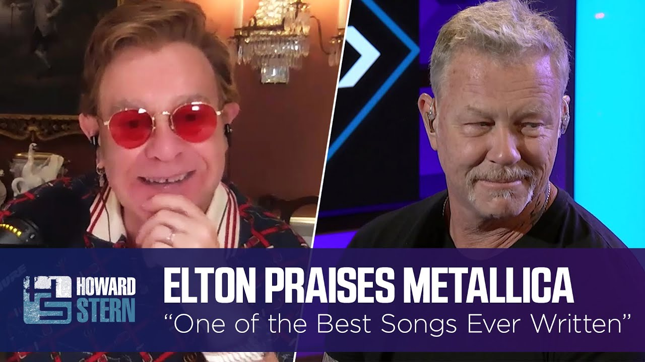 """Download Elton John Calls This Metallica Track """"One of the Best Songs Ever Written"""""""