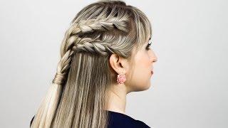 Косички на длинные волосы. Braids For Long Hair(Косички на длинные волосы отличаются тем, что могут быть как полностью собранными, так и частично распущенн..., 2014-02-16T16:03:12.000Z)