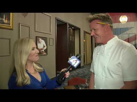 Chef Gordon Ramsay discusses his new KC steakhouse, Chiefs