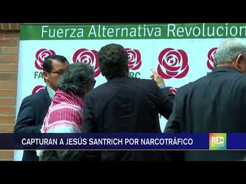 RED  Capturado Jesús Santrich en Bogotá