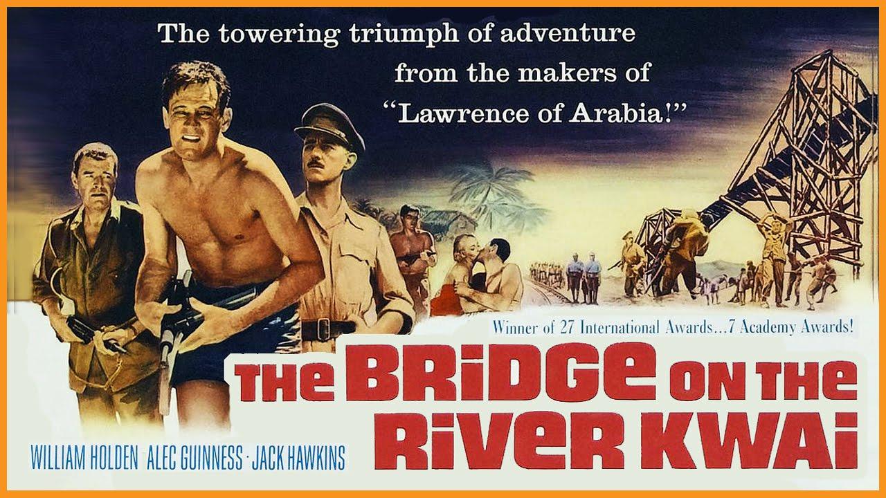 The Bridge on the River Kwai (1957) - IMDb |The Bridge On The River Kwai (1957)