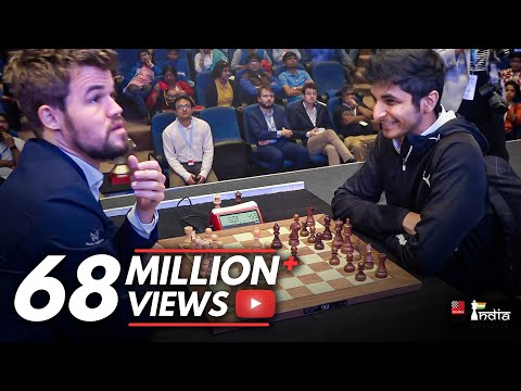 The Shortest Game Of Magnus Carlsen's Chess Career!