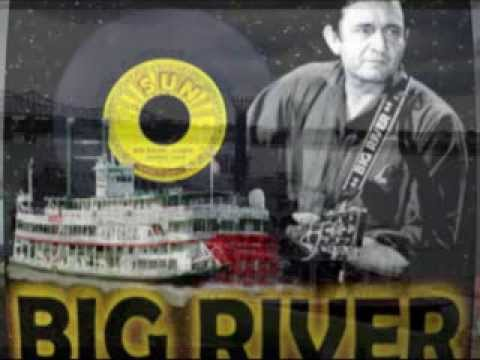 BIG RIVER - Cover - Johnny Cash 1958 - YouTube