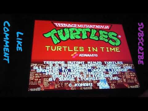 SosaFamBamBam Arcade1up Turtles in Time Review/Playthrough from SosaFamBamBam Family
