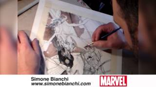 Inking Original Sin with Simone Bianchi