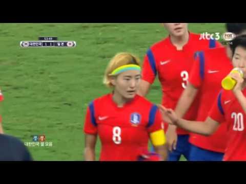 [EAFF Soccer] 동아시안컵 여자축구 한국vs일본 2대1 역전골   (2015.08.04)