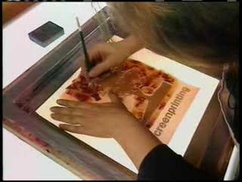 Printmaking Processes: Screenprinting:freedownloadl.com  graphic design, photo, project, print, platinum, graphic, amp, 24, tool, card, download, window, free, indesign, artist, design