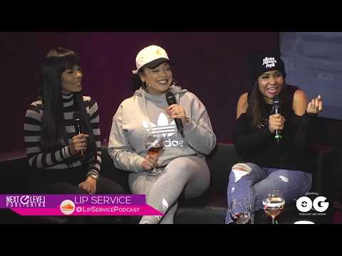 "The Lil' Mo Show - Podcast | Angela Yee's Lip Service Crew Talks About Singing To The ""D**K"""