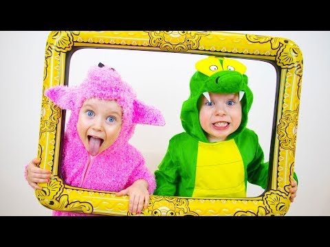 Dance Like Animal Song Nursery Rhymes Song for Kids from Gaby and Alex