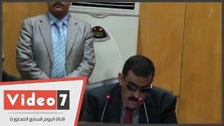 """بالفيديو.. تأجيل محاكمة 11 متهما بقضية """"أحداث عنف منشية القناطر"""" لجلسة 11 أكتوبر"""