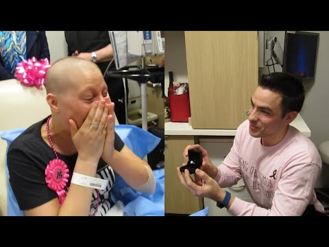 Kristina Kage - Man Proposes to Girlfriend on Her Last Day of Chemotherapy