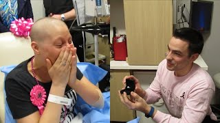 Man Proposes to Girlfriend on Her Last Day of Chemotherapy