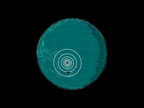 EQ3D ALERT: 10/30/17 - 6.8 magnitude earthquake in the South Pacific Ocean