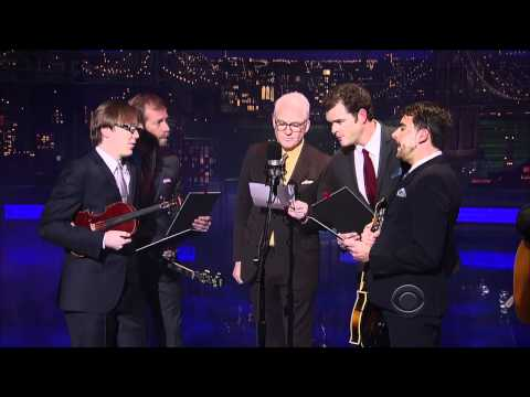 Steve Martin - Atheists Don't Have No Songs (Live on Letterman 03-16-2011) [HD]