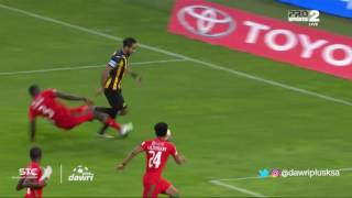 FilGoal | اخبار | بالفيديو – بعد 64 ثانية.. كهربا يسجل هدفا صعبا ويفي بوعده لمشجع الاتحاد
