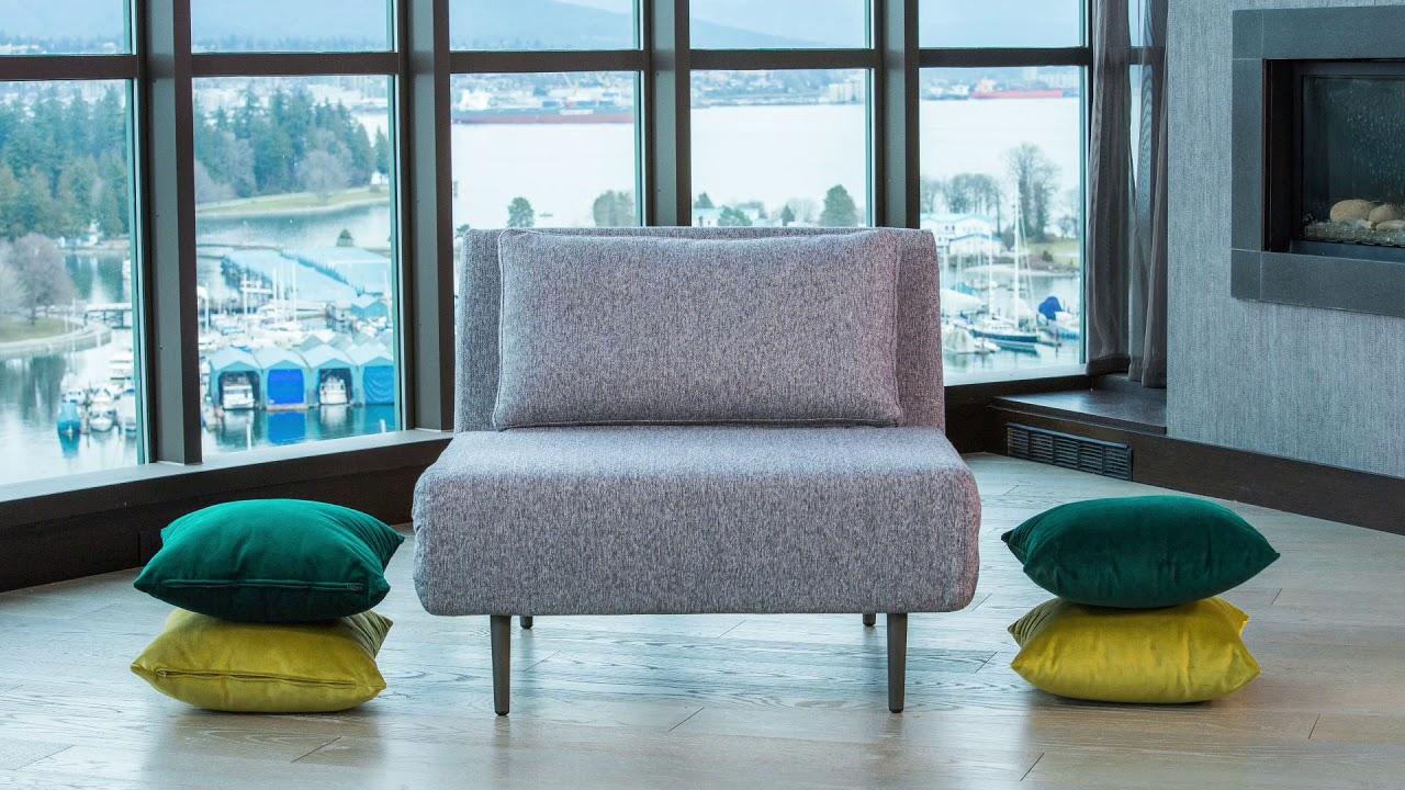 Oslo Chair Sofa Bed (open & close)