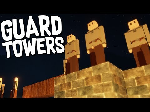 GUARD TOWERS and ZOMBIE MAZE - Colony Survival