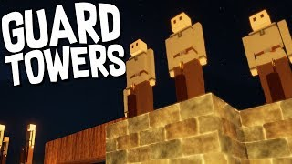 GUARD TOWERS and ZOMBIE MAZE - Colony Survival thumbnail