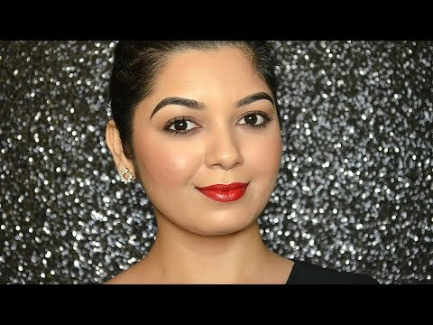Simple yet Elegant Makeup Look   Perfect for all Occasions   mostly Drugstore products