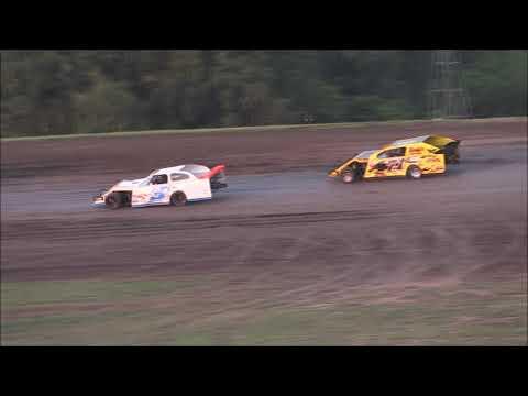 USMTS @ Salina HighBanks Speedway Heat #2   8-17-2019
