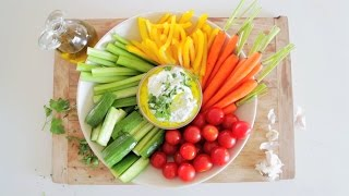 Rainbow Crudité: Claire Thomas Of The Kitchy Kitchen
