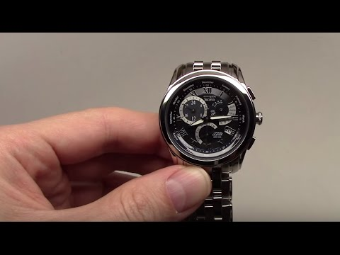 Citizen Eco-Drive Perpetual Calendar Men's Watch Review Ref: BL8000-54L