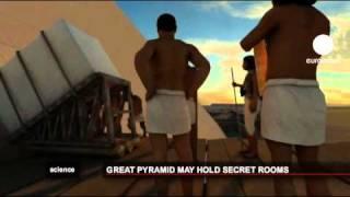 کشف اتاق پنهانی فرعون بزرگ مصر