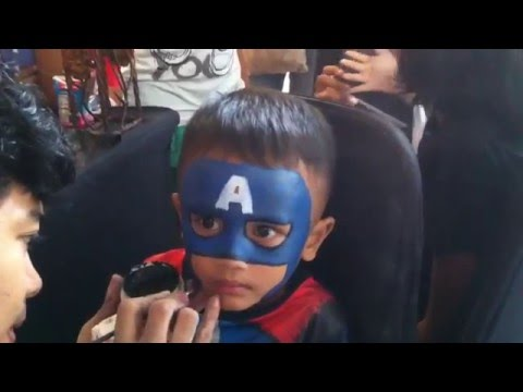 Captain America - Face Painting