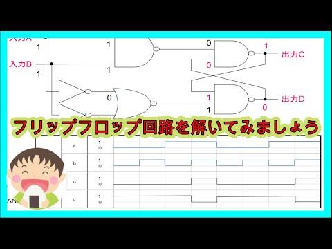 フリップフロップ(flip-flop)回...