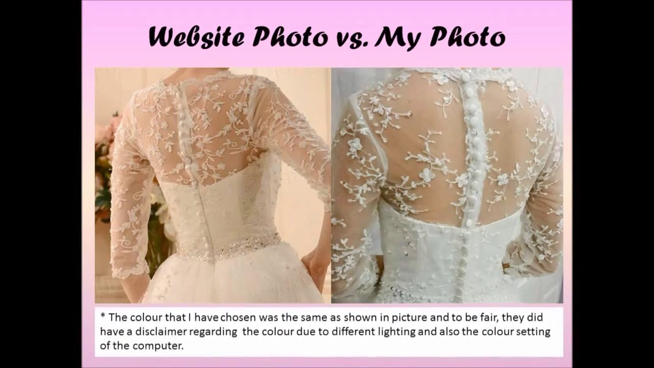 Tbdress reviews from a customer natalie woon buying my wedding tbdress reviews from a customer natalie woon buying my wedding dress online hit or miss youtube ombrellifo Image collections