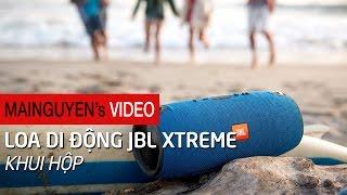 Khui hộp loa di động JBL Xtreme - www.mainguyen.vn