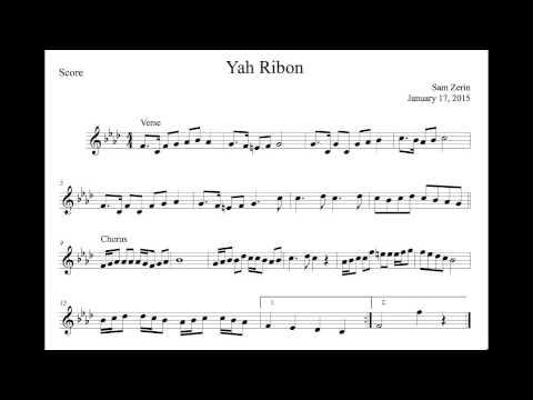 Ya Ribon - Score
