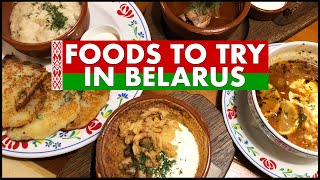 Foods To Try In Belarus