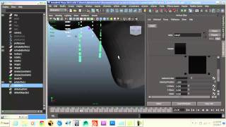Maya Tutorial: Animate A Viscous Liquid Effect, Part 3