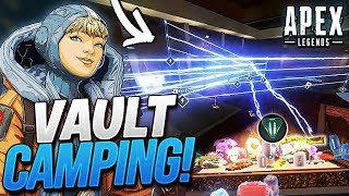 VAULT CAMPING AS WATTSON IS BROKEN! | Liquid Mendo