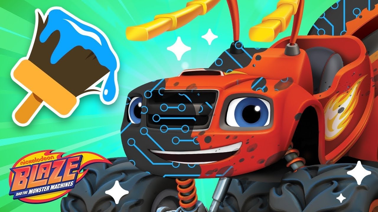 Makeover Machines #14 w/ Blaze on Animal Island | Games for Kids | Blaze and the Monster Machines
