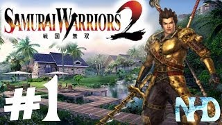 Let's Play Samurai Warriors 2 Xtreme Legends Toshiie Maeda Ch1 Battle of Okehazama