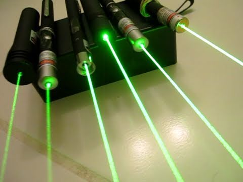Green Lasers: What Can Certain mW Do?