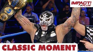 Pentagon Jr Captures World Championship in his Debut!   Classic IMPACT Wrestling Moments