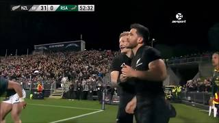 New Zealand vs South Africa Rugby Championship: The Benny Hill Mix