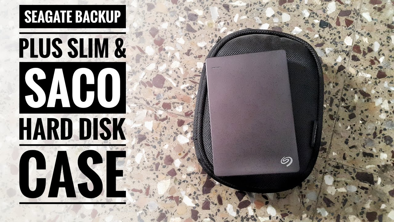 Seagate Backup Slim Plus And Saco Hard Disk Case Unboxing Youtube Harddisk 35 Inch Sata 500gb