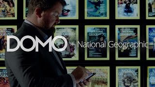Domo Customer Review: National Geographic