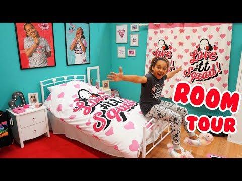 TIANA'S NEW BEDROOM!! Girls Room Tour