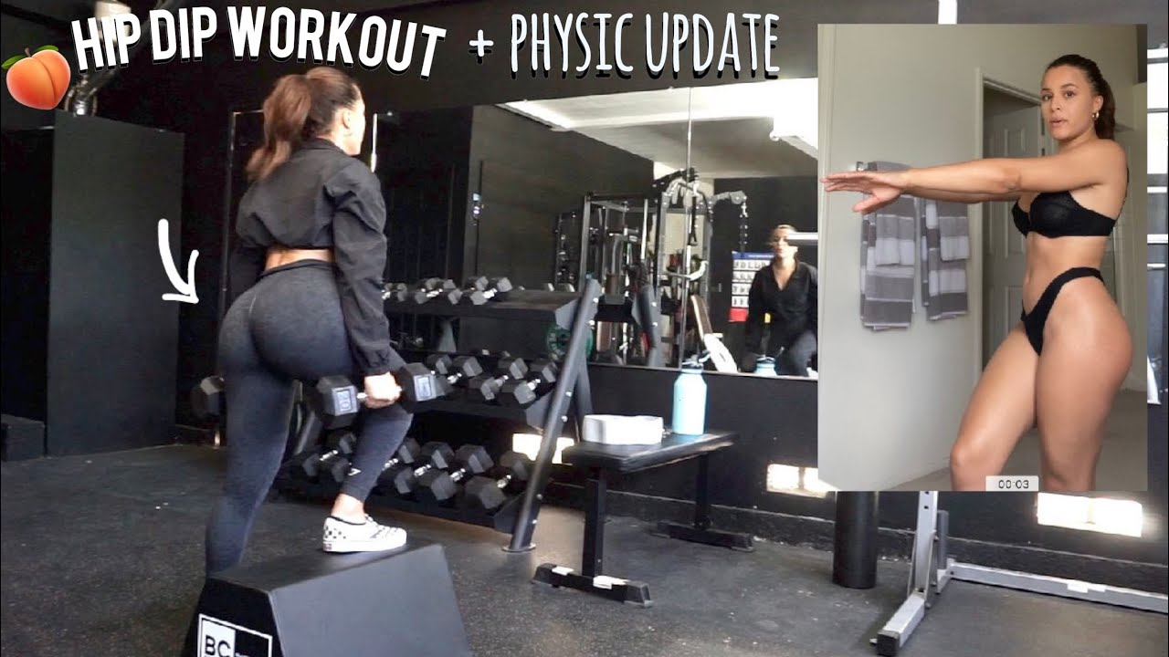 HIP DIP WORKOUT+ PHYSIQUE UPDATE + MY TRAINING CHANGED?