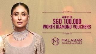 Win up to SGD 100,000 worth diamond cash vouchers at Malabar Gold & Diamonds - Singapore